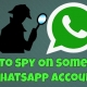 How to spy on someone's WhatsApp without touching their cell phone